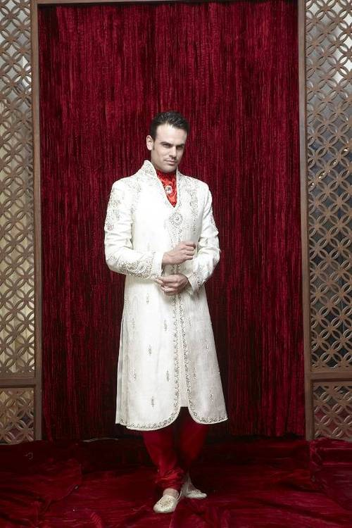 Cocktail Wedding Sherwani