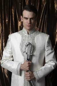Off White Sherwani