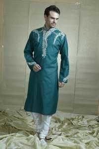 Resham Work Kurta pyjama