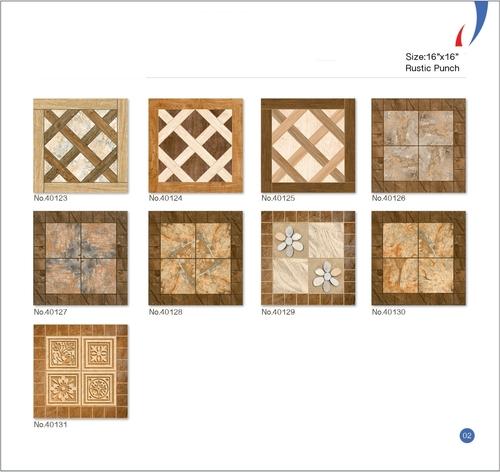 Digital Satin Matt Floor Tiles