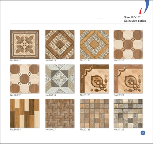 Ceramic Satin Matt Floor Tiles