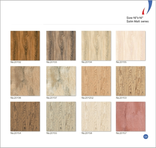 Satin Matt Floor Tiles