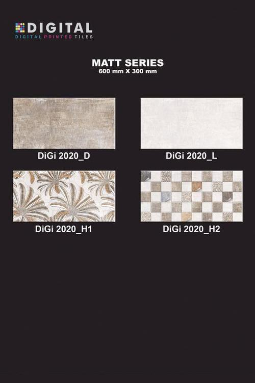 Fancy Ceramic Digital Wall Tiles 24x12