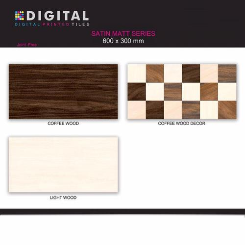 Satin Matt Wall Tiles 600x300mm