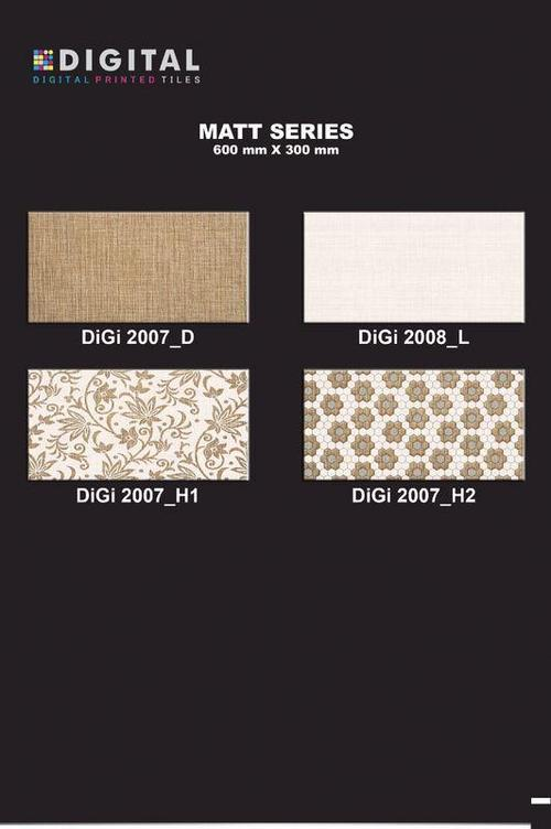 Matt Series Ceramic Digital Wall Tiles