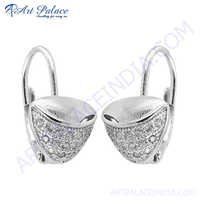 Fashionable 925 Sterling Silver Earring