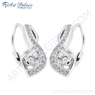 Rocking Style Cubic Zirconia Earring