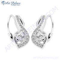 Rocking Style Cubic Zirconia Earring