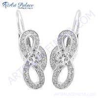 Stylish Designer 925 Sterling Silver Earring