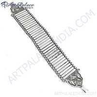 Charming Look Silver Bracelet