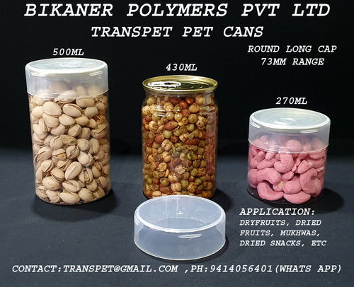 Dry Fruit Packaging Cans