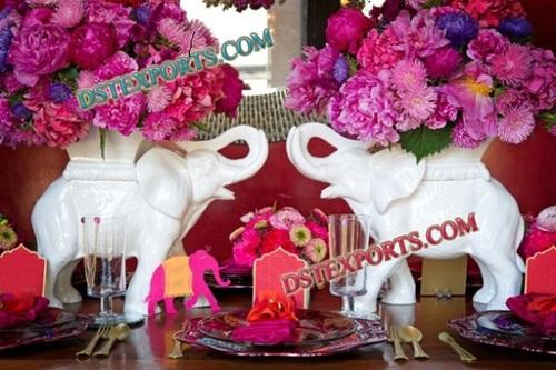 WEDDING ELEPHANTS WITH FLOWERS