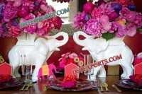 WEDDING ELEPHANTS WITH FLOWERS