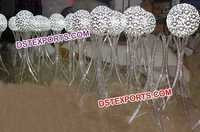 New Design Wedding Crystal Ball Stands
