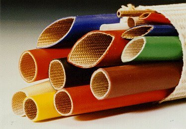 Silicone Rubber Coated Fiberglass Sleeving