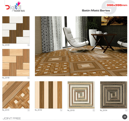 Living Room Ceramic Floor Tiles