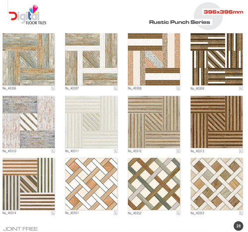 Ceramic Floor Tiles 396 x 396mm