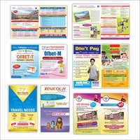 Colored Pamphlet Printing Service
