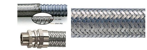 Steel Braided Galvanized Flexible Conduit