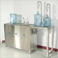 Jar Washing & Filling Machine