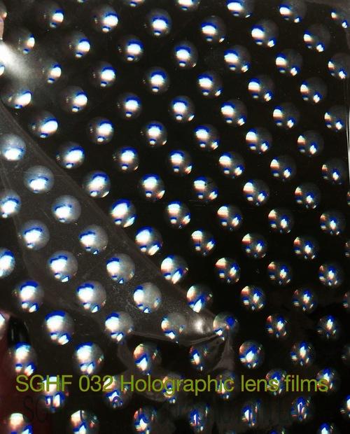Transparent Holographic Films
