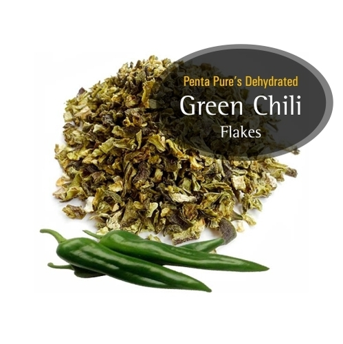 Green Chillies Flakes