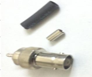 BNC F BT 3002 CRIMP 3.5mm