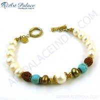 Quality Rudraksha Bead Bracelet