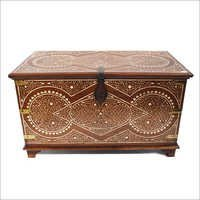 Inlay Colonial Storage Trunk