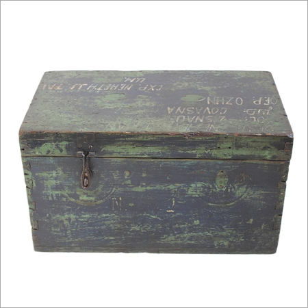 Antique Hungarian Soldiers Trunk