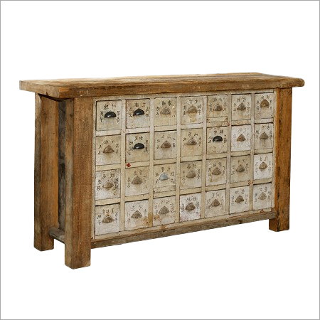 Vintage Apothecary Sideboard