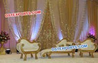 Wedding Stage Italian Sofa Set