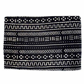 Mali Mudcloth Black And White - Large