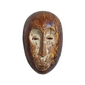Vintage Lega Bwami Tribal Mask