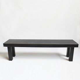Industrial iron Bench