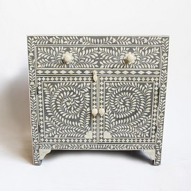 Inlay Bedside Cabinet