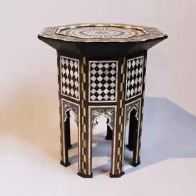 Inlay Octagonal Moroccan Side Table