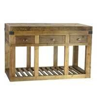 Reclaimed Elm Kitchen Island/Console