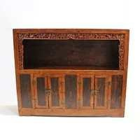 Antique Carved wood Sideboard