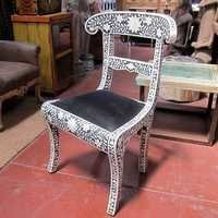 Bone Inlay Dining Chair