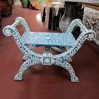 Bone Inlay Jenny Stool