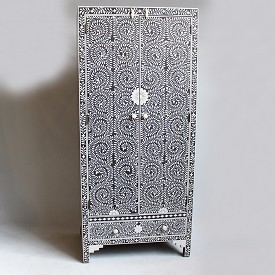 Inlay Armoire Cabinet