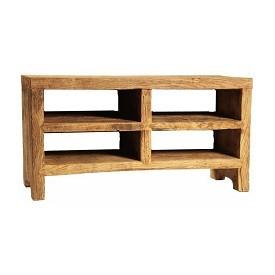 Elm Wood Plasma Stand