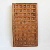 Antique Teak Ceiling Panel