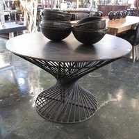 Industrial Iron Work Round Table 48