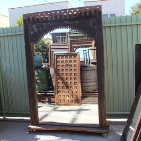 Antique Doorway Mirror Frame