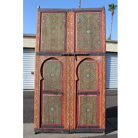 Painted Moroccan Door