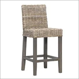 Woven Seagrass Counter Stool