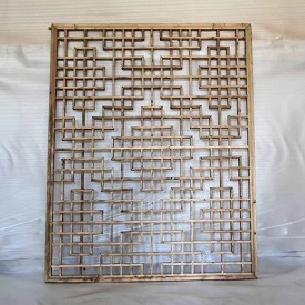 Lattice Work Window Screen