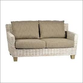 Woven Wicker Love seat